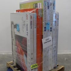 Pallet - 5 Pcs - TVs - Open Box (Tested Working) - Philips, JVC, Onn