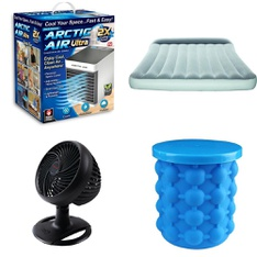 Half Truckload - 12 Pallets - 366 Pcs - Humidifiers / De-Humidifiers, Fans, Camping & Hiking, Accessories - Customer Returns - As Seen On TV, Bestway, Helen of Troy, Hyper Tough