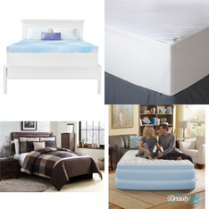 Pallet - 26 Pcs - Covers, Mattress Pads & Toppers, Comforters & Duvets - Customer Returns - Mainstay's, Aller-Ease, Better Homes & Gardens