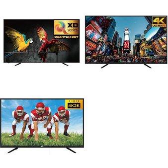 50 Pcs – LED/LCD TVs – Refurbished (GRADE A) – RCA