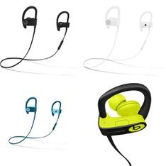 25 Pcs – Powerbeats3 Headphones (Tested NOT WORKING) – Models: ML8V2LL/A, MRET2LL/A, ML8W2LL/A, MNN02LL/A