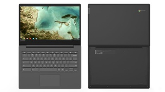 29 Pcs – Lenovo 81JW0001US Chromebook S330, 14″ HD Display, Mediatek MT8173C CPU 4GB RAM, 32GB eMMC SSD, Chrome OS, Black – Refurbished (GRADE A)