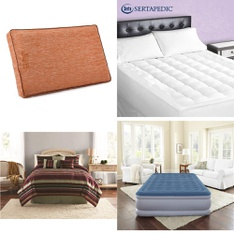Pallet - 41 Pcs - Covers, Mattress Pads & Toppers, Comforters & Duvets - Customer Returns - Mainstay's, Beautyrest, Mainstays, Serta