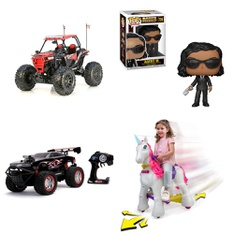 Pallet – 26 Pcs – Vehicles, Trains & RC, Action Figures, Unsorted – Customer Returns – New Bright, NECA, Funko