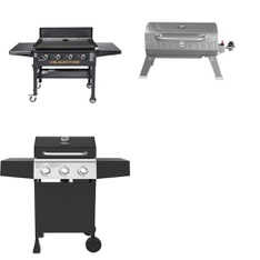 Pallet – 3 Pcs – Grills & Outdoor Cooking – Customer Returns – Expert Grill, Blackstone
