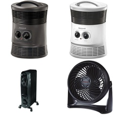 6 Pallets - 295 Pcs - Heaters, Accessories, Fans - Customer Returns - Mainstay's, Honeywell, Filtrete, Lasko