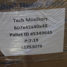 Pallet - 70 Pcs - Monitors - Tested NOT WORKING - LENOVO, HP, Samsung, LG