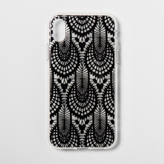 26 Pcs – Heyday Apple iPhone XR Case, Black Lace – Hard Polycarbonate – Like New, New, Open Box Like New – Retail Ready