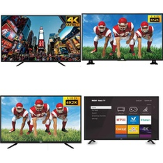 50 Pcs – LED/LCD TVs – Refurbished (GRADE A, GRADE B) – RCA, TCL
