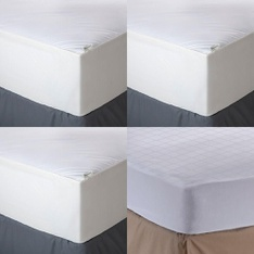Pallet – 63 Pcs – Covers, Mattress Pads & Toppers, Comforters & Duvets – Customer Returns – Aller-Ease, Mainstay's, Mainstays, Better Homes and Gardens