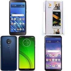 CLEARANCE! 50 Pcs - Cellular Phones - Refurbished (GRADE A, GRADE B, GRADE C - Not Activated) - LG, Motorola, BLU, ALCATEL