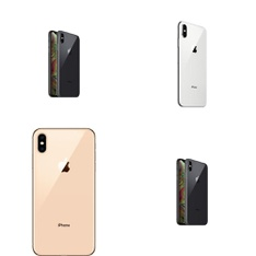 15 Pcs - Apple iPhone Xs Max - Refurbished (GRADE B - Unlocked) - Models: MT592LL/A, MT5J2LL/A, MT5E2LL/A, MT5Y2LL/A
