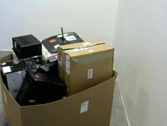 Pallet – 15 Pcs – Desktop Computers – Salvage – HP, LENOVO, Cooler Master, CyberpowerPC