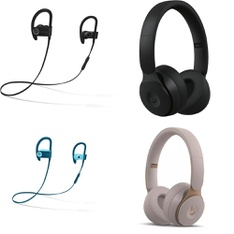 64 Pcs – Apple Beats Headphones – Refurbished (GRADE D, No Packaging) – Models: MRET2LL/A, ML8V2LL/A, MNET2LL/A, MU992LL/A