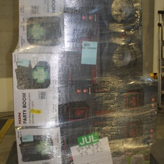 Pallet - 17 Pcs - Portable Speakers - Customer Returns - Ion, Blackweb, ION Electronics, Altec Lansing