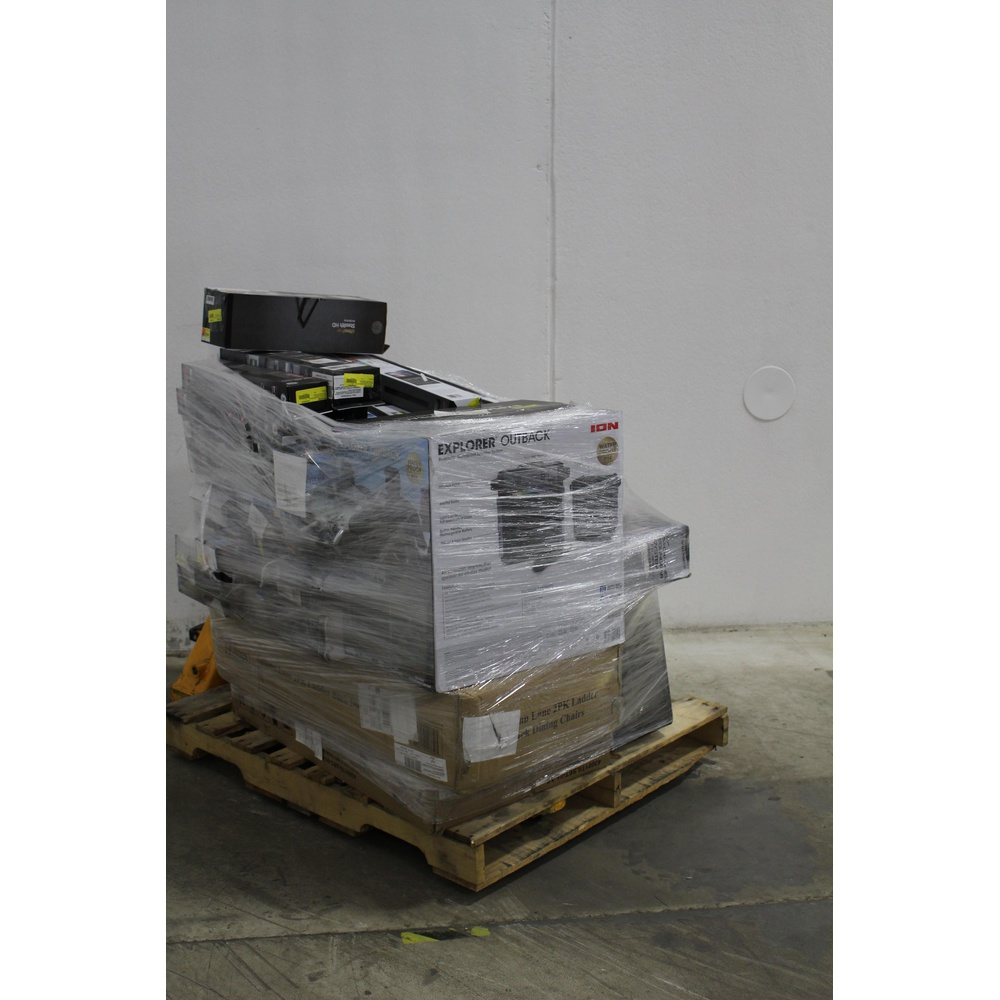 Pallet - 52 Pcs - Accessories, Lamps, Parts & Accessories, Automotive  Accessories, Speakers - Customer Returns - GE, Onn, Scosche, REESE