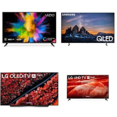 12 Pcs – LED/LCD TVs – Refurbished (GRADE A, GRADE B) – VIZIO, LG, TCL, Samsung