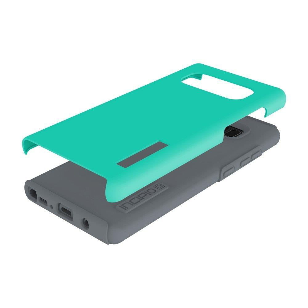 20 Pcs - Incipio WM-SA-895-TQC DualPro Samsung Galaxy Note 8 Case with  Shock-Absorbing, Turquoise - Used - Retail Ready