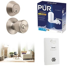 Pallet - 118 Pcs - Tools - Hardware, Humidifiers / De-Humidifiers, Kitchen & Dining - Customer Returns - Brinks, Brink's, Honeywell, Hyper Tough