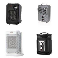 Pallet – 76 Pcs – Heaters, Humidifiers / De-Humidifiers – Customer Returns – WESTINGHOUSE, Konwin, Profusion, Honeywell