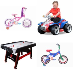 Pallet - 9 Pcs - Cycling & Bicycles, Game Room - Customer Returns - Step2, Paw Patrol, Fast Track, PJ Masks