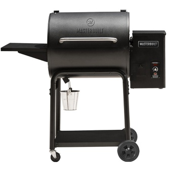 5 Pcs – Masterbuilt MB20261819 MWG600B 24″ Pellet Grill and Smoker – 604 sq. inches of Cooking Area – New – Retail Ready