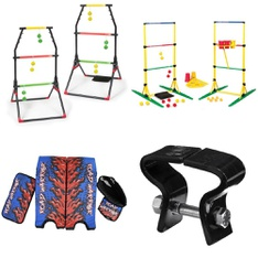 Pallet - 98 Pcs - Outdoor Sports, Exercise & Fitness, Camping & Hiking, Game Room - Customer Returns - Everlast, EastPoint, Go! Gater, Coleman