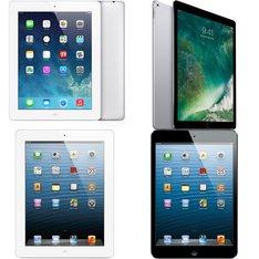 33 Pcs – Apple Ipads – Refurbished (GRADE D) – Models: MD329LL/A, 3F560LL/A, MD961LL/A, 3D113LL/A