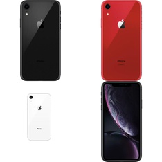 10 Pcs - Apple iPhone XR - Brand New (Unlocked) - Models: MRYY2LL/A, 3D830LL/A, MRYU2LL/A, MRYR2LL/A