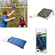 Pallet – 43 Pcs – Outdoor Sports, Camping & Hiking, Game Room – Customer Returns – EastPoint Sports, Ozark Trail, Intex, Go! Gater