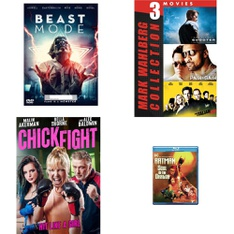 45 Pcs – Movies & TV Media – Open Box Like New, New Damaged Box, New – Retail Ready – Gravitas Ventures, Quiver Films, Paramount, Warner Brothers