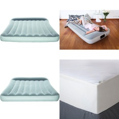 3 Pallets - 121 Pcs - Covers, Mattress Pads & Toppers, Camping & Hiking, Comforters & Duvets - Customer Returns - Bestway, Mainstays, Aller-Ease, Mainstay's