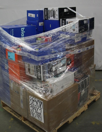 Pallet – 67 Pcs – Accessories, Receivers, CD Players, Turntables – Customer Returns – Onn, onn., One For All