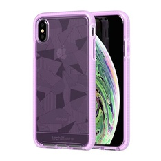 44 Pcs - Tech21 Apple iPhone X Evo Check Case- Orchid - Like New, New - Retail Ready