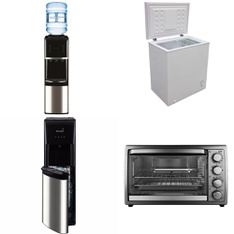 Pallet – 13 Pcs – Bar Refrigerators & Water Coolers, Microwaves – Customer Returns – Primo, Hamilton Beach, Artic King, Newell Brands
