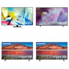 36 Pcs - LED/LCD TVs - Refurbished (GRADE A, GRADE B) - Samsung, TCL