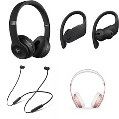 25 Pcs - Mixed Beats By Dre. (Tested NOT WORKING) - Models: MX432LL/A, MYMC2LL/A, MY582LL/A, MX442LL/A