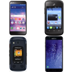 CLEARANCE! 95 Pcs – Mobile & Smartphones – Refurbished (BRAND NEW, GRADE A, GRADE B, GRADE C – Not Activated) – Samsung, LG, ZTE, Motorola