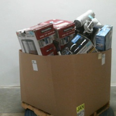 Pallet – 12 Pcs – Air Conditioners, Vacuums – Damaged / Missing Parts – De'Longhi, Tramontina, SharkNinja, HOOVER VACUUM