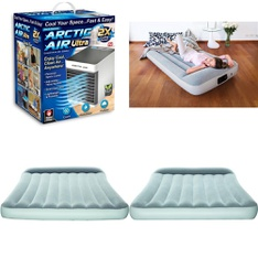 Half Truckload - 12 Pallets - 474 Pcs - Camping & Hiking, Covers, Mattress Pads & Toppers, Humidifiers / De-Humidifiers, Mattresses - Customer Returns - Bestway, As Seen On TV, Aller-Ease, Hyper Tough