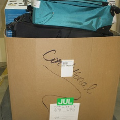 Pallet - 19 Pcs - Luggage, Vacuums - Customer Returns - Protege, Travelers Polo & Racquet Club, American Tourister