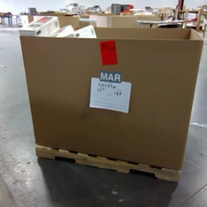 Clearance! Pallet - 255 Pcs - Hardware, Accessories, Batteries, Security & Surveillance - Brand New - Retail Ready - Cooper Bussmann, Square D by Schneider Electric, Legrand, Siemens