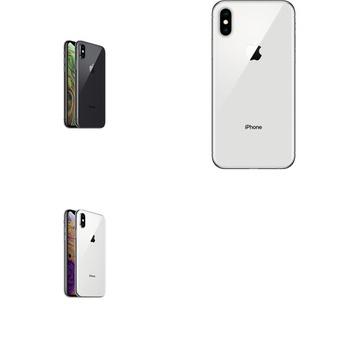 5 Pcs – Apple iPhone Xs – Refurbished (GRADE A – Unlocked) – Models: MT8U2LL/A, MT8Y2LL/A, MT982LL/A