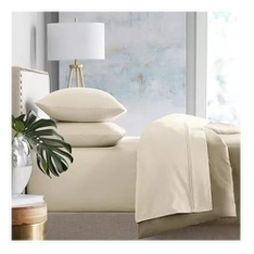 9 Pcs – Member's Mark WIL450MMTXIVI 450-Thread Count Sheet Set – Ivory, Twin/Twin XL – New – Retail Ready