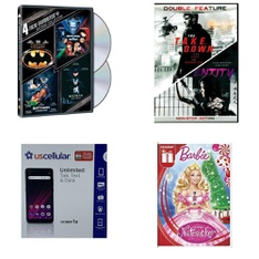 Pallet – 2528 Pcs – DVD & Blu-Ray Movies – Customer Returns – Paramount, Universal Pictures Home Entertainment, WARNER HOME VIDEO, Lionsgate