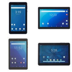 22 Pcs – Tablets – Tested NOT WORKING – Onn, EMATIC, RCA, HighQ