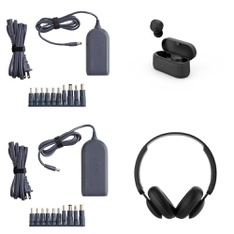 Pallet – 342 Pcs – Other, Over Ear Headphones, Power Adapters & Chargers, Keyboards & Mice – Customer Returns – onn., Onn, Square, Speck