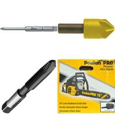 34 Pcs - Power Tools - Refurbished (GRADE A, GRADE B) - Alpen, Delta, Champion Cutting Tool Corp, Emerson-Fisher LP-Gas Equipment
