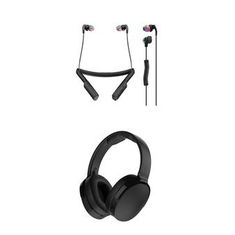 12 Pcs – Skullcandy Headphones & Portable Speakers – Refurbished (GRADE A) – Models: 980096325, S6HTW-K033