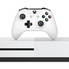 26 Pcs - Microsoft Xbox One S White 1TB Video Game Console - Refurbished (GRADE A) - Video Game Consoles